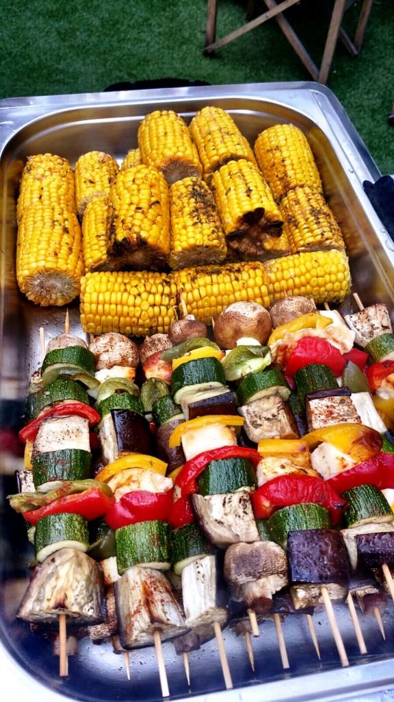 BBQ Menu Vegetarian Option