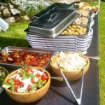 Outdoor Catering Set Up